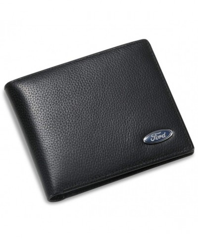Bifold Wallet Credit Slots Window