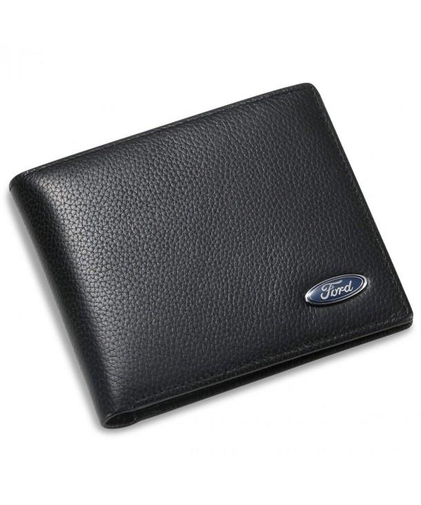 Bifold Wallet Credit Slots Window