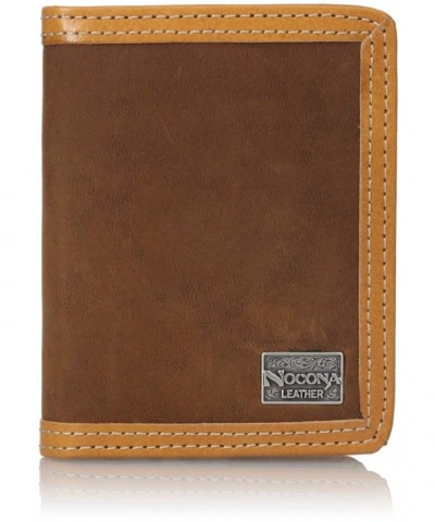 Nocona Mens Distresed Bifold Brown