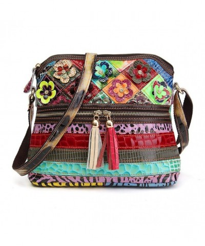 OURBAG Lambskin Multicolor Crossbody Shoulder