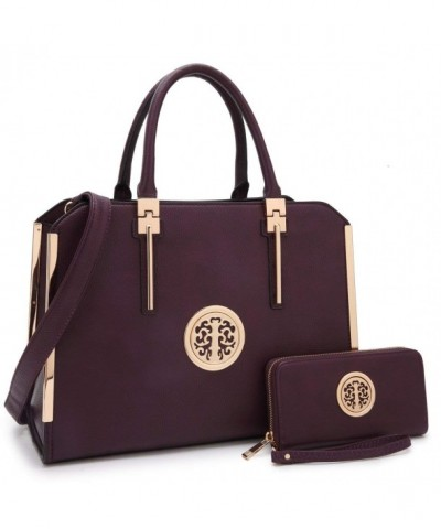 Fashion Handbag Designer Trending B 7555 W Purple