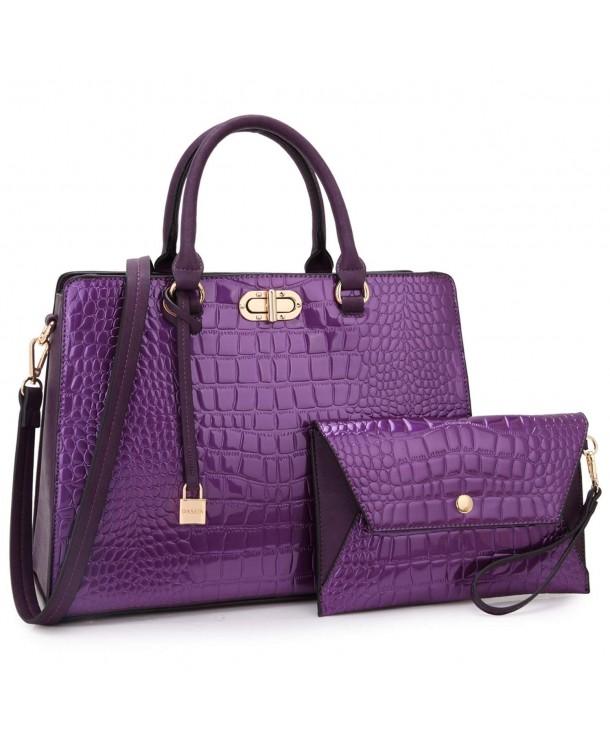 Leather Fashion Handbag Shoulder Wristlet