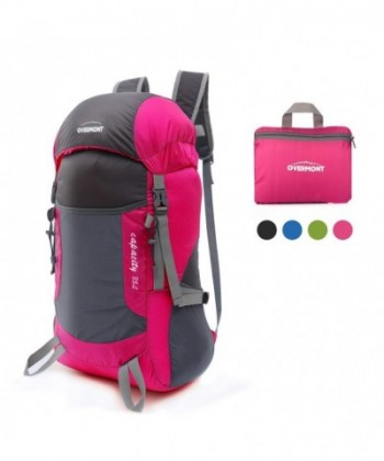 Overmont Foldable Backpack Capacity Portable