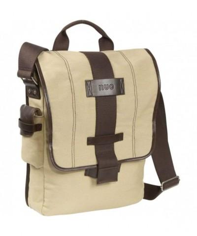 Tech Vertical Canvas Messenger Bag Color
