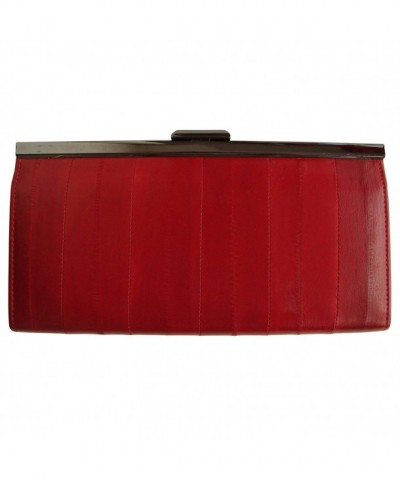Rainbow Womens Genuine Leather Clutch