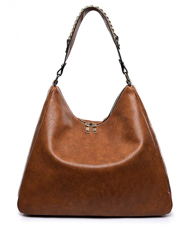 Covelin Leather Handbag Capacity Shoulder