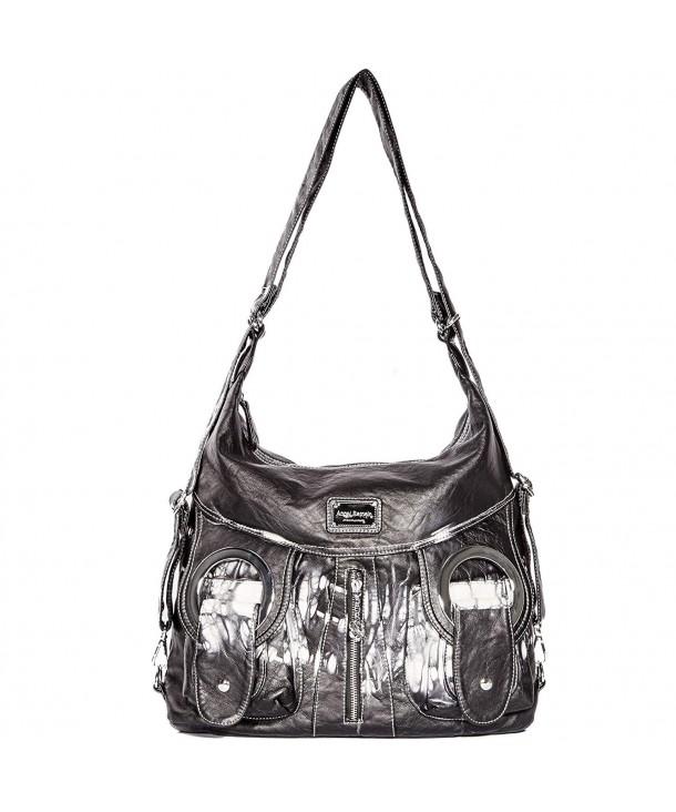 Fashion Handbags Satchel Shoulder Leather