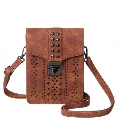 MINICAT Hollow Texture Crossbody Wallet