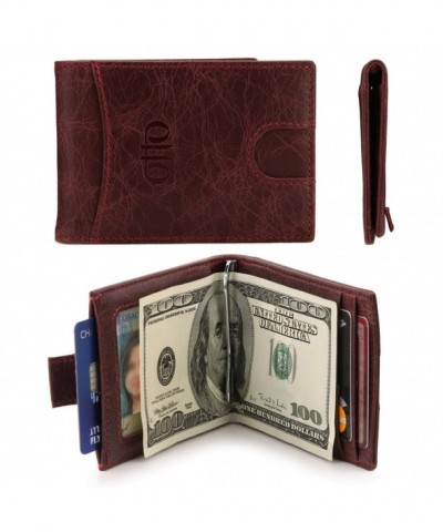OTTO Grain Leather Wallet Money
