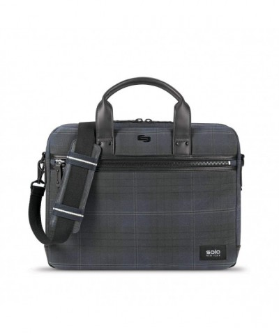 Bryce Waxed Canvas Brief Plaid