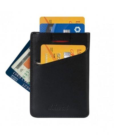 Minimalist Wallet Blocking Sleeves Credit