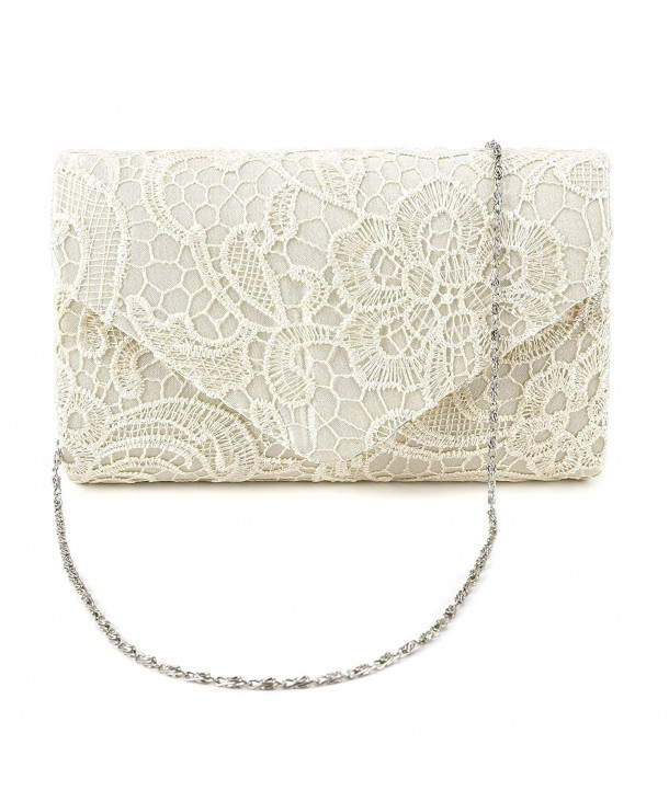 Evening Wedding Shoulder Handbag Champagne
