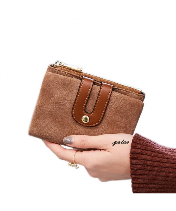 Womens Bifold Leather Wallet Ladies