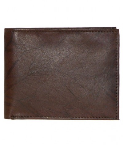 Buxton Dakota Passcase Wallet TAN