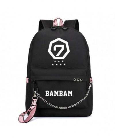 JUSTGOGO Backpack Daypack College Charging