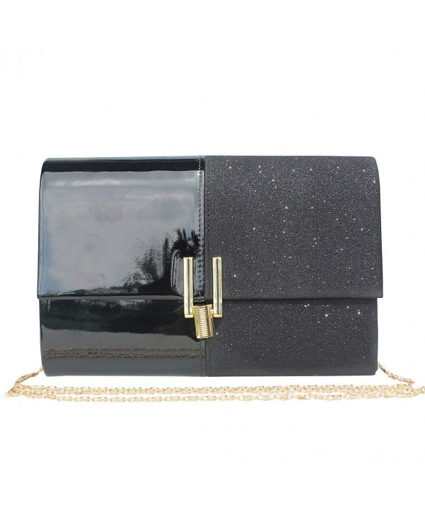 Womens Glitter Evening Clutch Wedding
