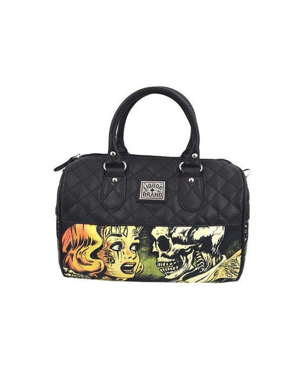 Liquor Horror Cartoon Satchel Crossbody