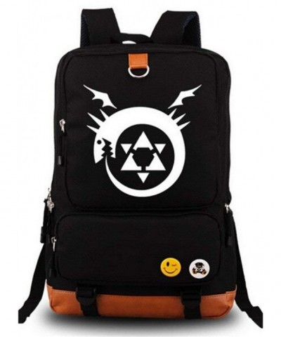 Siawasey Fullmetal Alchemist Cartoon Backpack