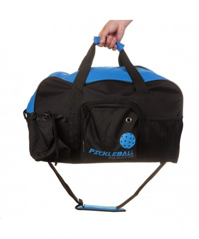 Pickleball Fanatic Duffel Blue Black