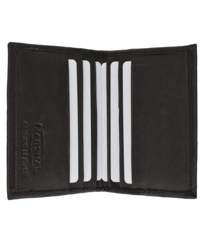 Genuine Leather Bifold Business Marshal