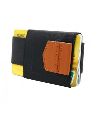 ANSSOW Genuine Leather Credit Blocking