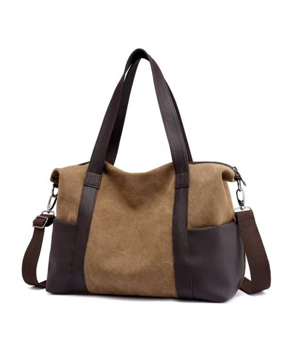 Women S Handbag Canvas Shoulder Bag Tote Crossbody Bags Work Coffee Ck18d86co5h