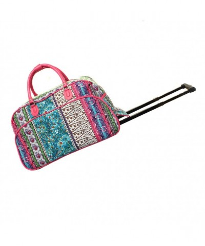 World Traveler 21 Inch Rolling Bohemian