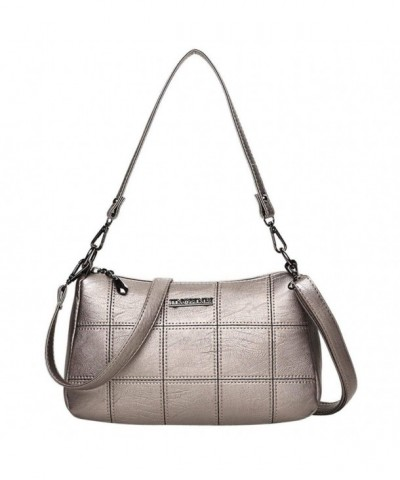 KONFA Crossbody Leather Pattern Shoulder