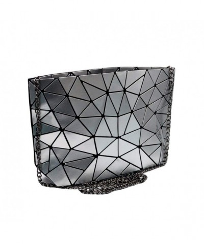 Holographic Envelope Geometric Crossbody Messenger