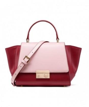 Designer Leather Handbags Adjustable Shoulder