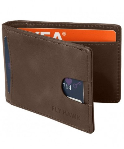 Minimalist Pocket Blocking Leather Wallets