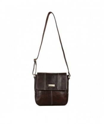 Aretha 142011 Genuine Leather Messenger