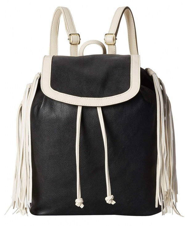 Big Buddha Womens Fringe Backpack