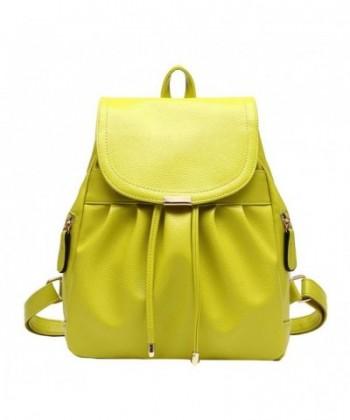 LIZHIGU Leather Backpack Durable 282