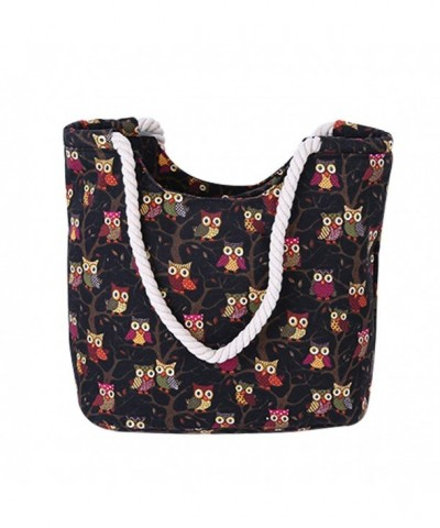 Canvas Shoulder Handbag Shopping Travel