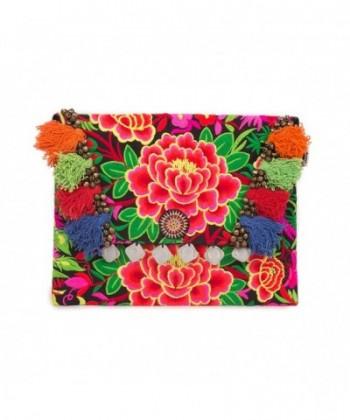 Changnoi Garden Embroidered Handbag Thailand