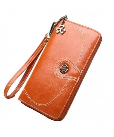 Fonshow Womens Wallets Capacity Handbag