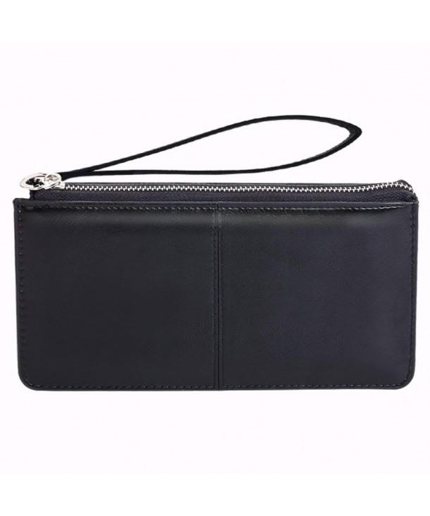 Bonaweite Womens Wristlet Clutches Leather x