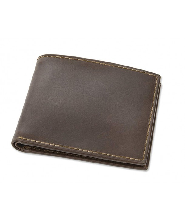 Orvis Crazy Horse Billfold Brown