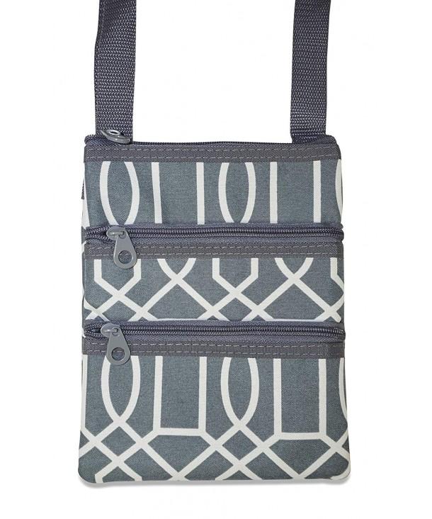 Ever Moda Geometric Crossbody Bag
