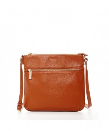 SUSU Leather Crossbody Messenger Handbag