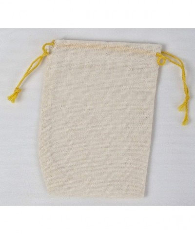 Made cotton double drawstring Yellow