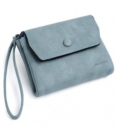 UTO Wristlet Wallet Compact Leather