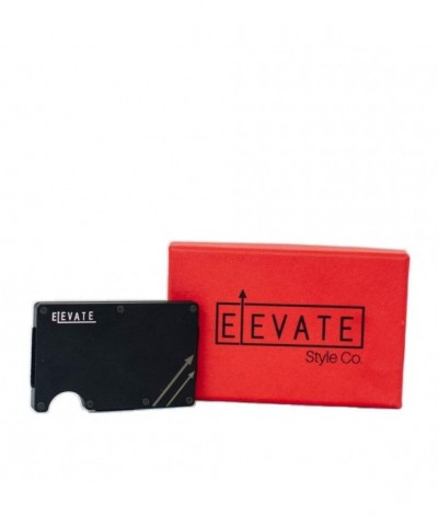 Elevate Minimalist Aluminum Wallet Blocking