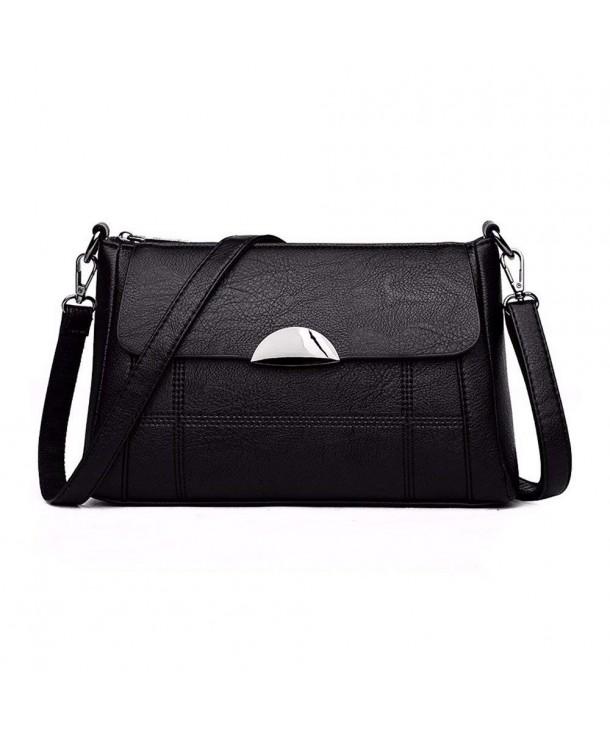 Alovhad Crossbody Leather Handbag Shoulder