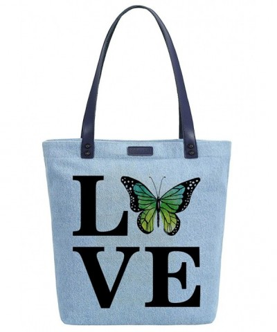 Soeach Butterfly Handbag Shoulder Shopper