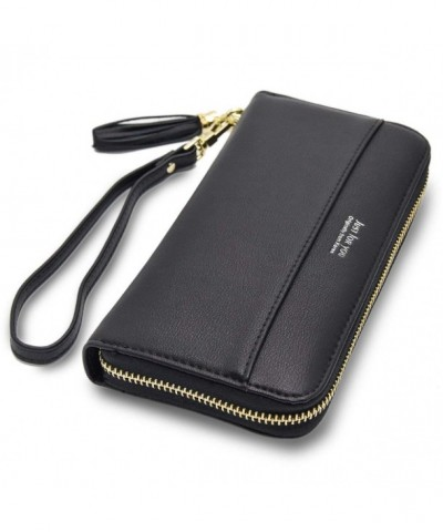 Cyanb Wallets Tassel Bifold Wristlet