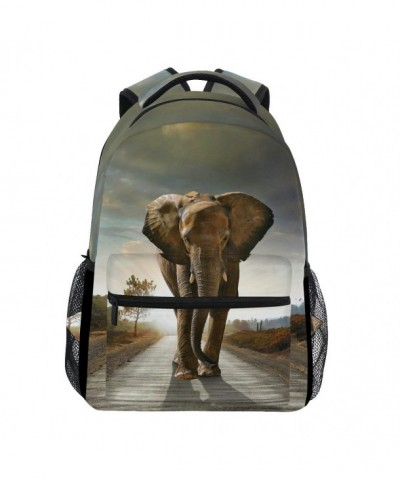 TropicalLife Elephant Backpacks Shoulder Backpack