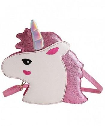 Womens Unicorn Shoulder Messenger Handbag