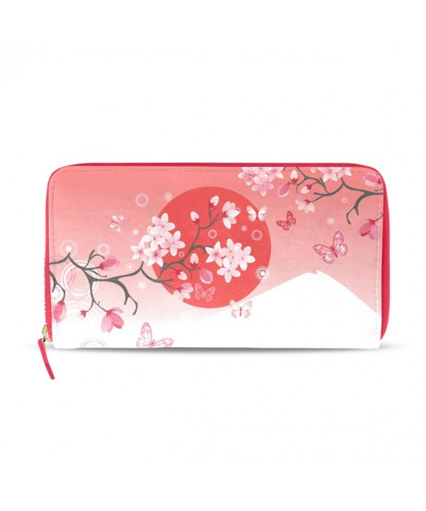 Japanese Sakura Blossom Leather HandBag